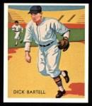 1934 Diamond Stars Reprints #101  Dick Bartell  Front Thumbnail