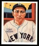 1934 Diamond Stars Reprints #74  Tony Lazzeri  Front Thumbnail