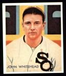 1934 Diamond Stars Reprints #51  John Whitehead  Front Thumbnail