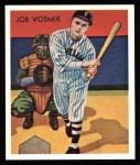 1934 Diamond Stars Reprints #8  Joe Vosmik  Front Thumbnail