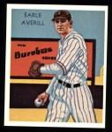 1934 Diamond Stars Reprints #100  Earle Averill  Front Thumbnail