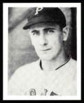1939 Play Ball Reprints #129  Bill Swift  Front Thumbnail