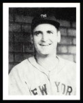 1939 Play Ball Reprints #144  Zeke Bonura  Front Thumbnail