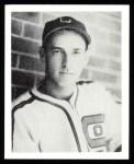 1939 Play Ball Reprints #105  Rabbit McNair  Front Thumbnail