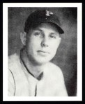 1939 Play Ball Reprints #130  Bill Brubaker  Front Thumbnail