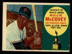 1960 Topps #316  Willie McCovey  Front Thumbnail