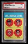 1963 Topps #537  Pete Rose / Al Weis / Ken McMullen / Pedro Gonzalez  Front Thumbnail