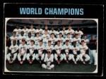 1971 O-Pee-Chee #1   World Champions Front Thumbnail