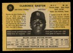 1971 O-Pee-Chee #25  Cito Gaston  Back Thumbnail