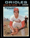 1971 O-Pee-Chee #32  Jerry DaVanon  Front Thumbnail