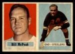 1957 Topps #51  Bill McPeak  Front Thumbnail