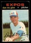 1971 O-Pee-Chee #21   -  Dan McGinn    Front Thumbnail