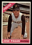 1966 #54  Jose Pagan  Front Thumbnail
