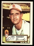 1952 Topps Reprints #102  Bill Kennedy  Front Thumbnail