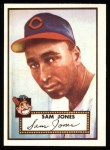 1952 Topps Reprints #382  Sam Jones  Front Thumbnail