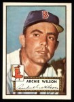 1952 Topps Reprints #327  Al Wilson  Front Thumbnail
