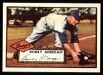 1952 Topps Reprints #355  Bobby Morgan  Front Thumbnail