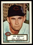 1952 Topps Reprints #347  Joe Adcock  Front Thumbnail