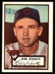 1952 Topps Reprints #401  Bob Schultz  Front Thumbnail