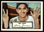 1952 Topps Reprints #5  Larry Jansen  Front Thumbnail