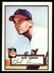 1952 Topps Reprints #268  Bob Lemon  Front Thumbnail