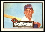1952 Topps Reprints #328  Bob Borkowski  Front Thumbnail