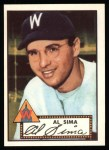 1952 Topps Reprints #93  Al Sima  Front Thumbnail