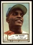 1952 Topps Reprints #321  Joe Black  Front Thumbnail