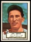 1952 Topps Reprints #318  Harold Gregg  Front Thumbnail