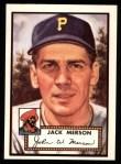 1952 Topps Reprints #375  John Merson  Front Thumbnail