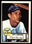 1952 Topps Reprints #251  Chico Carrasquel  Front Thumbnail