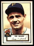 1952 Topps Reprints #150  Ted Beard  Front Thumbnail