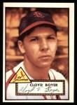 1952 Topps Reprints #280  Cloyd Boyer  Front Thumbnail