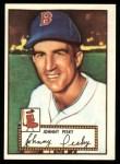 1952 Topps Reprints #15  Johnny Pesky  Front Thumbnail