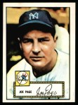 1952 Topps Reprints #48  Joe Page  Front Thumbnail