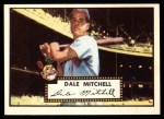 1952 Topps Reprints #92  Dale Mitchell  Front Thumbnail