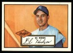 1952 Topps Reprints #36  Gil Hodges  Front Thumbnail