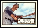 1952 Topps Reprints #359  Dee Fondy  Front Thumbnail