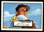 1952 Topps Reprints #287  Steve Bilko  Front Thumbnail