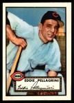 1952 Topps Reprints #405  Eddie Pellagrini  Front Thumbnail