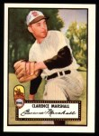 1952 Topps Reprints #174  Clarence Marshall  Front Thumbnail