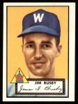 1952 #309  Jim Busby  Front Thumbnail