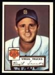 1952 Topps Reprints #262  Virgil Trucks  Front Thumbnail