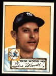 1952 Topps Reprints #99  Gene Woodling  Front Thumbnail