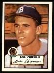 1952 Topps Reprints #388  Bob Chipman  Front Thumbnail
