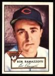 1952 Topps Reprints #184  Bob Ramazzotti  Front Thumbnail