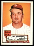 1952 Topps Reprints #108  Jim Konstanty  Front Thumbnail