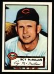 1952 Topps Reprints #137  Roy McMillan  Front Thumbnail