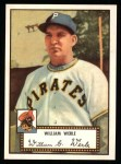 1952 Topps Reprints #73  Bill Werle  Front Thumbnail