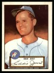 1952 Topps Reprints #45  Eddie Joost  Front Thumbnail